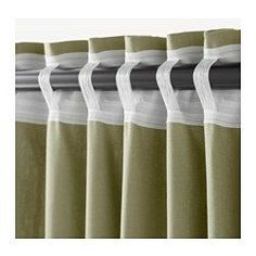 Back tab curtains Home Curtains, Curtains With Blinds, Valance, Home Decor Furniture, Diy Home Decor, Room Decor, Rideaux Design, How To Make Curtains, Curtain Designs