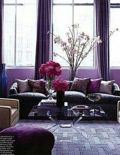 Wohnzimmer Lila U2013 Coole Einrichtungsideen Im Lila | Wohnideen Moods |  Pinterest | Lila, Einrichtungsideen Und Wohnzimmer