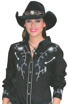 Wool Felt Cowgirl Hat