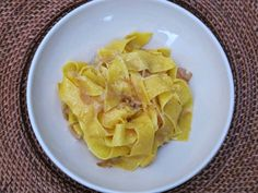 Pappardelle with Braised Onion Sauce