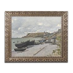 Sainte-Adresse 1867 by Claude Monet Framed Painting Print