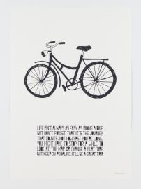 LIFE POSTER BIKE | POSTERS | FOLKconceptstore