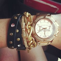 Obsessing over MK watches and cute bracelets