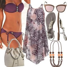 Lascana Glamour Lila Summer für Damen zum Nachshoppen auf Stylaholic #outfits #styleinspiration #outfitideas #look #lookoftheday #fashion #trending #style #clothing  #mode #damenmode #bekleidung #stylaholic #outfit #sexy #elegant #casual