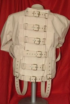 Inspiration: Straight jacket was our first inspiration ...