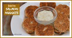 Grain Free Salmon Nuggets | Real Food RN