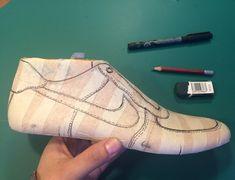 Men's Shoes, Shoe Boots, Shoes Sport, Shoe Template, Shoe Last, Shoe Pattern, Kinds Of Shoes, Fashion Sketches, Pattern Making