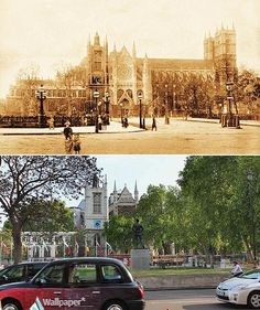 A new book, 'The Queens' London', makes a striking comparison of the city in   the diamond Jubilee years of Victoria and Elizabeth II.