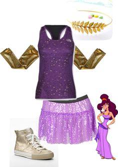 Meg running costume