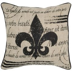 I pinned this Fluer de Li Pillow - Set of 2 from the A Way with Words event at Joss and Main!