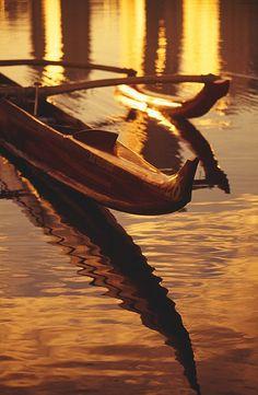 Koa Outrigger Canoe