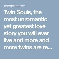 Twin Souls, the most unromantic yet greatest love story you will ever live and more and more twins are reuniting in this time - Gangsta Goddesses Twin Flames Lost Love Quotes, Soul Quotes, Twin Flame Love, Twin Flames, Great Love Stories, Love Story, Reunited Quotes, Twin Flame Runner, Long Lost Love