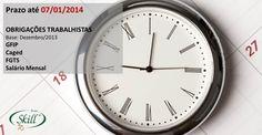 Obrigações fiscais que vencem em 07/01. Pague os impostos trabalhistas em dia e fique livre de autuações e multas.