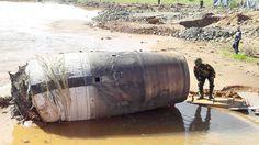 Objeto misterioso e não identificado cai em Mianmar