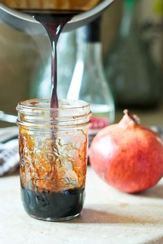 Pomegranate Agrodolce | by Sonia! The Healthy Foodie
