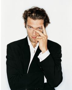 Vincent Cassel Portrait  by Rankin.. www.fashion.net