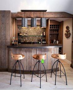 13 best Bares images on Pinterest in 2018   Bar home, Dining room ...