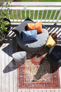 Sitzkissen Full Moon in grau | Petit Pont - Skandinavische Möbel, Accessoires & Deko für Haus und Garten