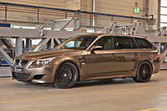 """Mit einer neuen Ausbaustufe """"RR"""" für das BMW M5/M6 E6X Bi-Kompressor-System mit 820 PS – der schnellste Kombi der Welt.."""