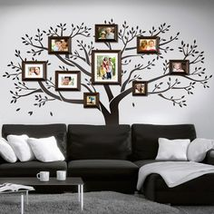 Family tree for wall decoration nice idea