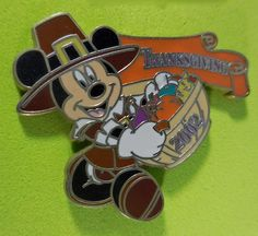 2002 DISNEYLAND MICKEY MOUSE Thanksgiving Pin, found at http://stores.ebay.com/Disneyland-Souvenirs