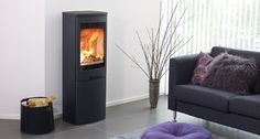 The Duo 5 stove boasts high elevations that not only represent a style statement but can provide up to of warmth. Fabre, Wood Burning, Sorting, Modern, Interior Decorating, Home Appliances, Design, Inspiration, Furniture