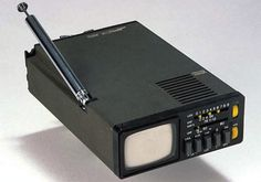 Sinclair MTV-1 Micro TV (1978). The MTV-1 was incredibly small by late 1970s standards: it measured a mere 4 x 6 1/4 x 1 5/8 inches (102 x 159 x 41 mm)