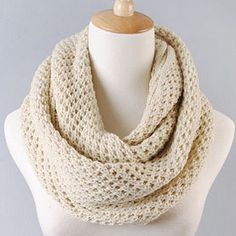 chunky knit scarf| $6.52  pastel cult party kei ulzzang gyaru fachin scarf accessories under10 under20 under30 free shipping rosegal