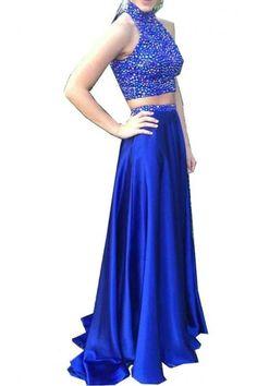20 mejores imágenes de Vestidos de graduación en color azul  14d16fc4cba