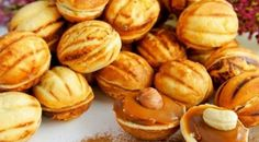 РЕЦЕПТЫ И СОВЕТЫ ХОЗЯЙКАМ: Печенье «Орешки» со сгущенкой