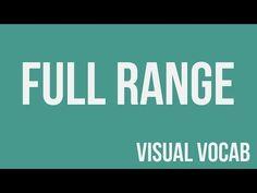 Full Range defined - From Goodbye-Art Academy - YouTube