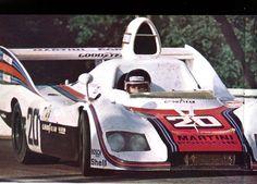 """frenchcurious:  """"Jacky Ickx et Jis Van Lennep (Porsche 936) vainqueur des 24 Heures du Mans 1976 - sport-auto juillet 1976.  """""""