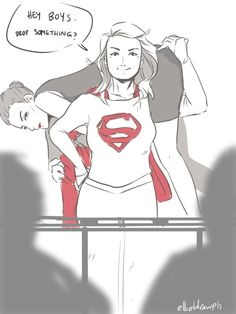 Drop something series... Part 1 This one is awesome lol Supercorp karlena #supercorp #supergirl #karlena #karadanvers #lenaluthor