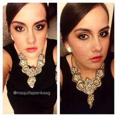Gold make up Makeup By: Erika Arboleda  Ig: @maquillajeerikaag