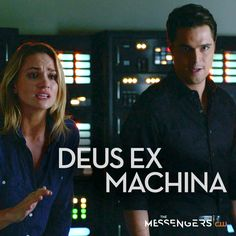 """""""Deus Ex Machina"""" - With an angel and the Devil on his shoulder, what path will Leland take? Deus Ex Machina, The Messenger, Watch Full Episodes, The Cw, Devil, Call Saul, Angel, Shoulder, Posters"""