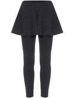 Dark Grey Slim Skirt Leggings  , 40% Off 1st Order