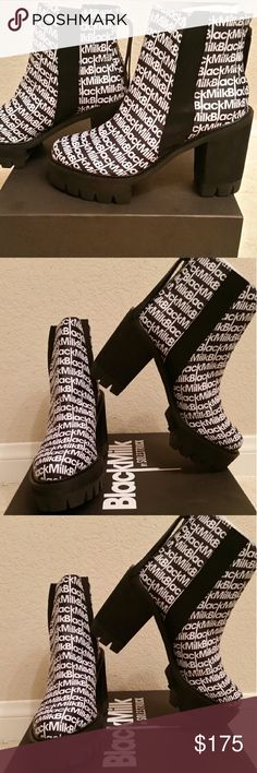 Blackmilk Clothing  Solestruck Jovy-Anne bootie Brand new. Women's SZ 10. Scuff on one of the heels. Box not included. Blackmilk Shoes Ankle Boots & Booties