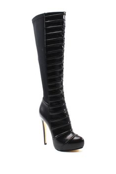 Come Get Em Knee-High Boot by Luichiny