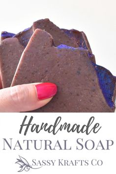 This is a super soap with super food ingredients for your skin! Organic blueberries super fine and blend them with Tahitian noni fruit. This gives a firm bar with god fluffy bubbles and a mild, gentle exfoliation.  Full of antioxidants and vitamin C. This bar helps balance and maintain a healthy complexion.    #sassykraftsco#soap#artisansoap#soapmaker#soaper#soapshare#blueberry#blueberrymuffin Organic Blueberries, Dried Blueberries, Tahitian Noni, Noni Fruit, Stocking Stuffers For Her, Exfoliating Soap, Vitis Vinifera, Organic Coconut Oil