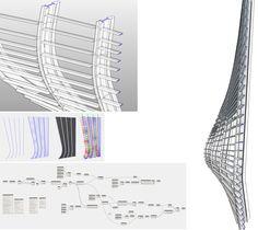 Architecture Program, Parametric Architecture, Parametric Design, Rhino Tutorial, 3d Tutorial, Grasshopper Rhino, Rhino 3d, Surface Modeling, Facades