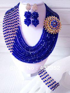 FreeShipping A1500 New Design Multicolor Nigerian Wedding