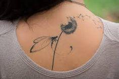 Bildergebnis für dandelion and dragonfly tattoo