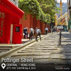 Hong Kong ‏@discoverhk Take a stroll down the cobblestone steps of one of the district's oldest streets.