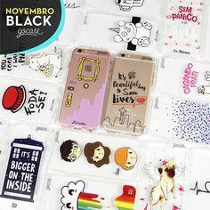 OPA! Tá rolando NOVEMBRO BLACK lá no site.  Na compra de 2 Gocases você ganha 50% OFF na compra da 3ª case.  [NÃO ESQUEÇA DE COLOCAR A 3ª GOCASE NO CARRINHO] #gocasebr #instagood #iphonecase #phonecase #black #allblack #novblack #gocaseblack #amogocase