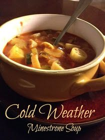 Living's as Easy as 312: Winter Minestrone Soup
