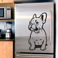 Dog Decal French Bulldog Puppy, Vinyl Sticker Decal - Good for Walls, Cars, Ipads, Mirrors Etc on Etsy, $12.22 CAD