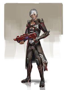 Mass Effect / Dragon Age - Fenris (by Andrew Ryan)