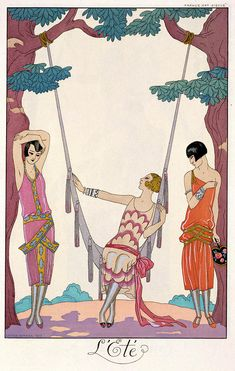 L'Ete (Summer) by Georges Barbier