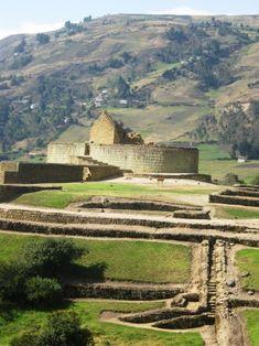 Las ruinas de Ingapirca, ubicadas en la provincia de Cañar, al sur del Ecaudor, son un ejemplo del pasado milenario de esta tierra.