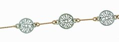 Silver disc bracelet with rose gold links | Brisbane jewellery | Christina's Collection Silver Jewellery Range | MONTASH Jewellery Design | www.montash.com.au
